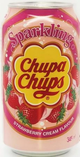 Chupa Chups Strawberry Cream