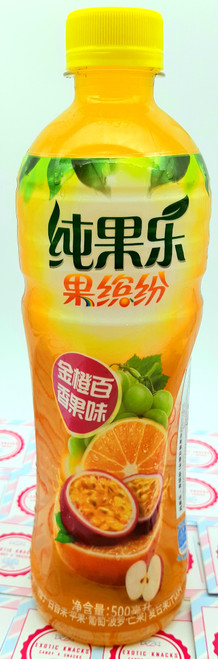 Tropicana Orange and Passion Fruit Flavor 500 mL
