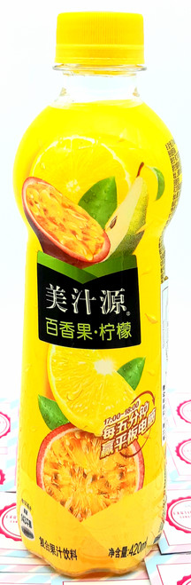 Minute Maid Passion Fruit and Lemon Flavor 420 mL