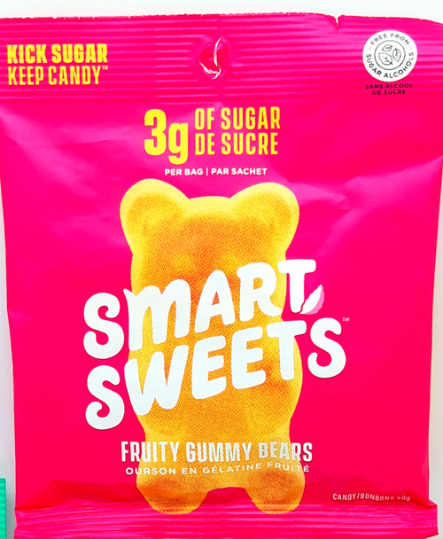 Stevia-Sweetened Gummy Bears - FruityFlavour  50g