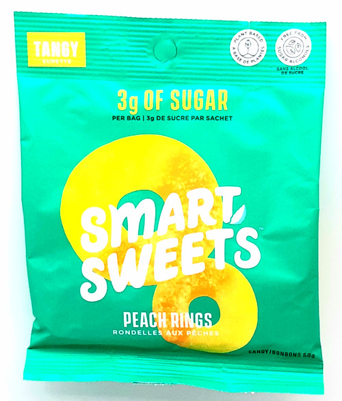 Smart Sweets - Peach Rings 50g