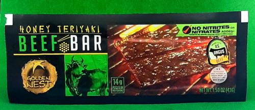 BBQ Beef Bars- Honey Teriyaki