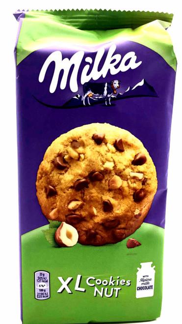 Milka XL Cookies Hazelnut 184g
