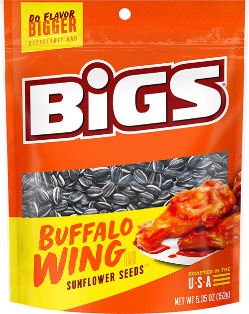 Bigs Sunflower Seeds Buffalo Wing Flavor 5.35oz (152g)