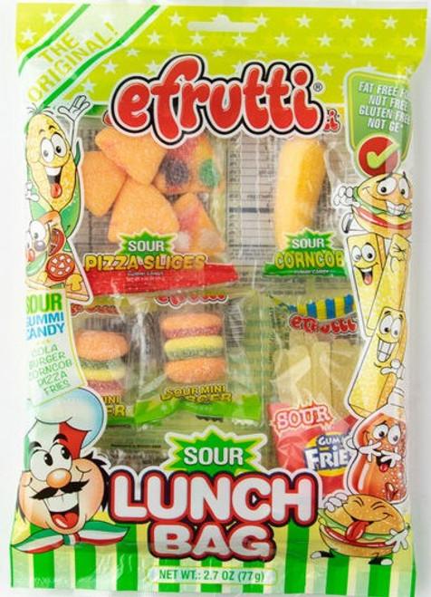 E-Frutti Sour Gummi Lunch Bag Tray