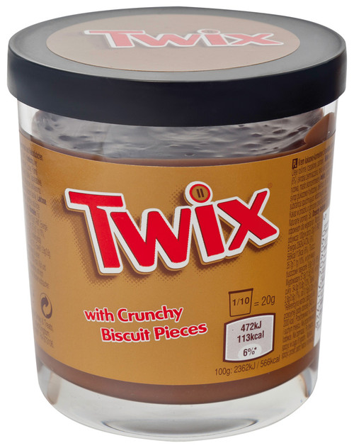 Twix With Crunchy Biscuit Pieces 200g