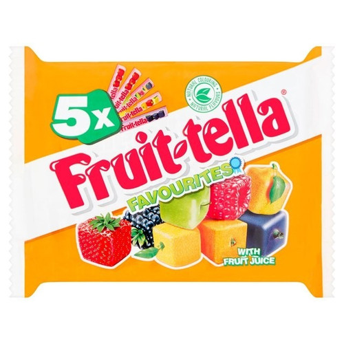 Fruit-tella Chewy Mix Candy 4+1 free pack 205g