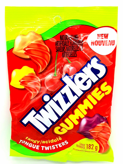 Twizzlers Gummies Tangy Tongue Twisters