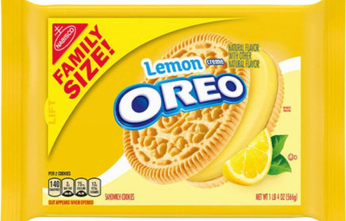 Lemon Oreo Family Size
