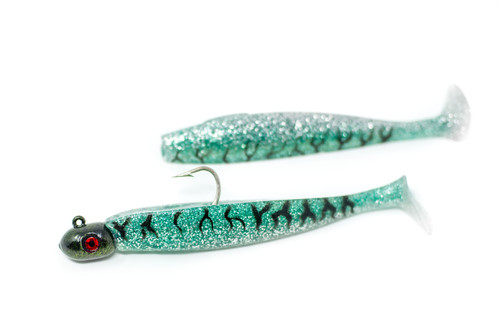 Freedom Fish      Green Mackerel  (Mini, Tinker, & Horse)