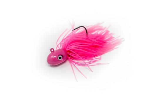 Nantucket Flukies/Seabass  Pink  (7/0 hook)