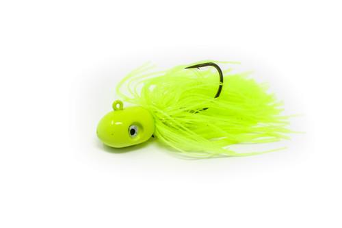 Nantucket Flukies/Seabass  CHARTREUSE  (7/0 hook)