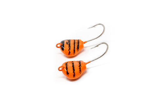 ( 5 per pack) Togzilla  Lay Perfect Jigs  Orange/Black