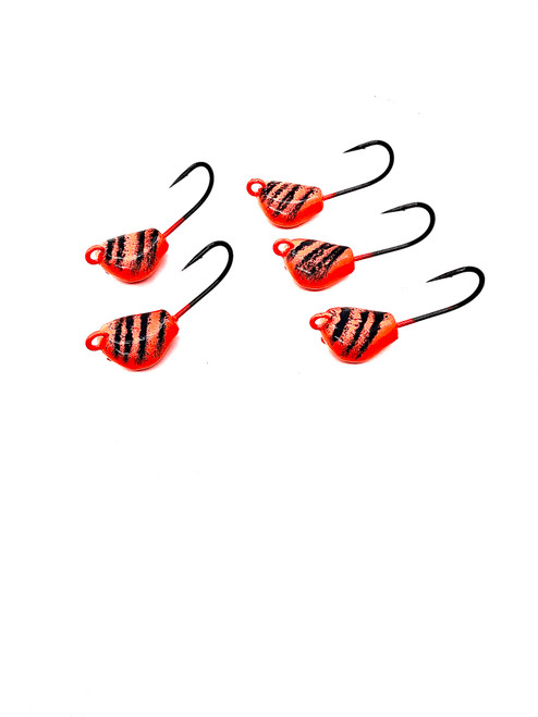 ( 5 per pack) Togzilla  Lay Perfect Jigs  Orange/Black