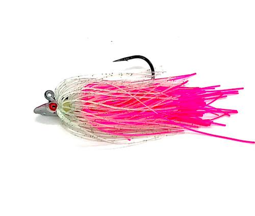 Nantucket Flukies/Seabass  GLOW-SQUID (arrow)
