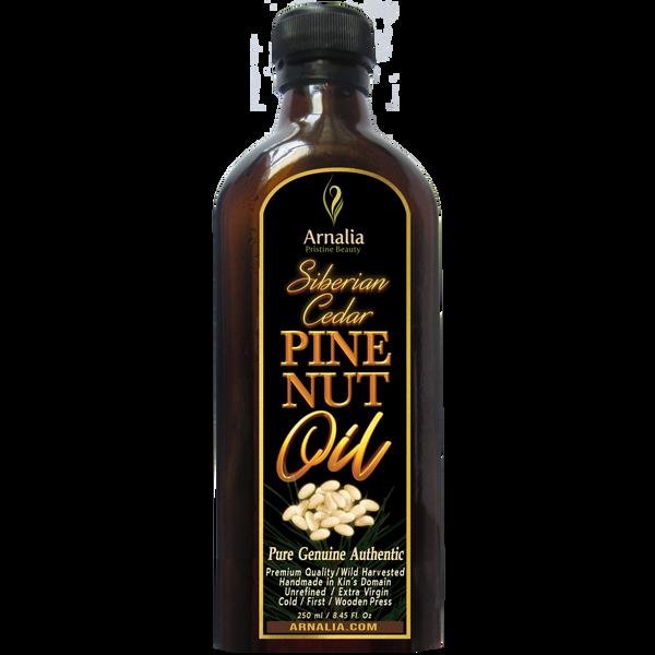 Siberian Pine Nut Oil Handmade, 250 ml