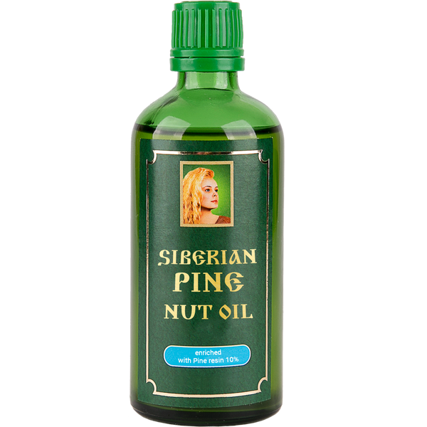 Pine Nut Oil with Pine Nut tree Resin 10%