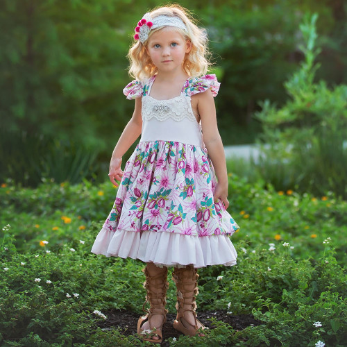 Nora Floral Heirloom Dress
