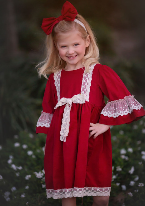 Haute Baby | A Time To Treasure Big Girls Valentine's Day Dress