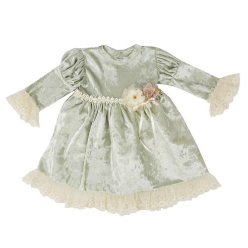 Frilly Frocks | Abigail Infant & Toddler Girls Vintage Heirloom Dress