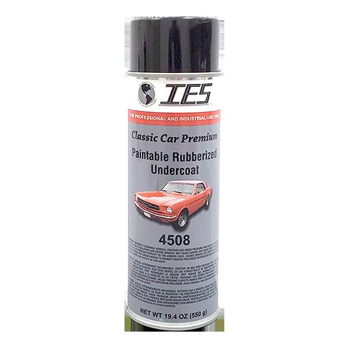 IES 4508 Classic Car Premium Paintable Rubberized Undercoating 24oz