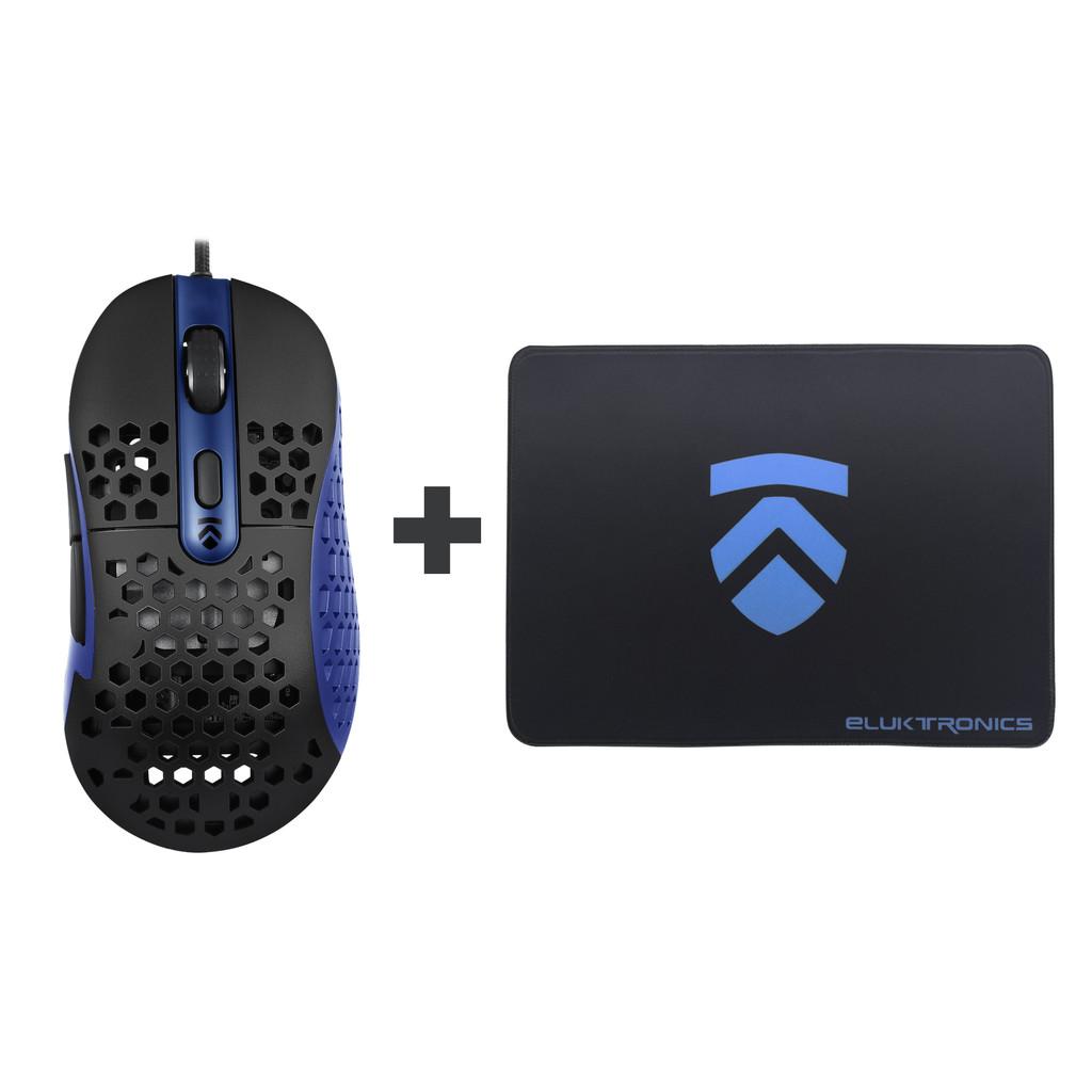 Eluktronics HIVE-65 Gaming Mouse & Mousepad Bundle