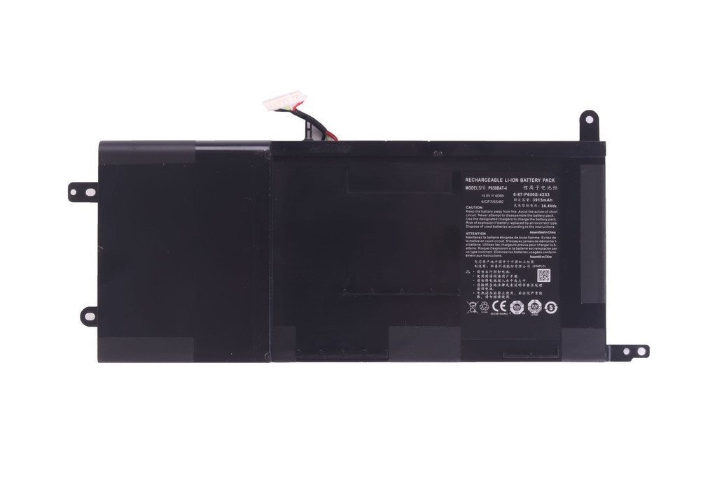 4-Cell 60Whr Battery - Eluktro Pro Series P650 & P670