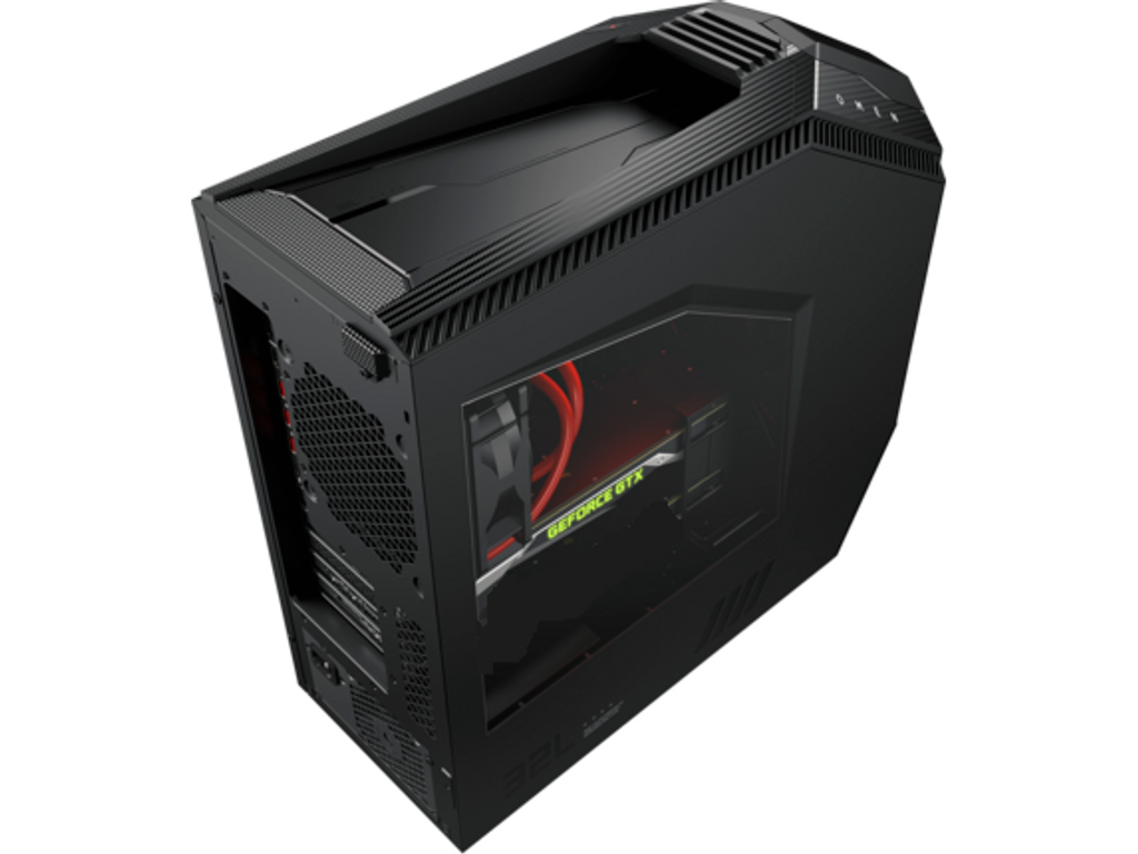 HP OMEN 880 Gaming PC (Liquid Cooled CPU up to i9-9900K, NVIDIA GTX 2080 Ti 11GB GPU, 750 Watt Platinum Power Supply) VR Ready Desktop