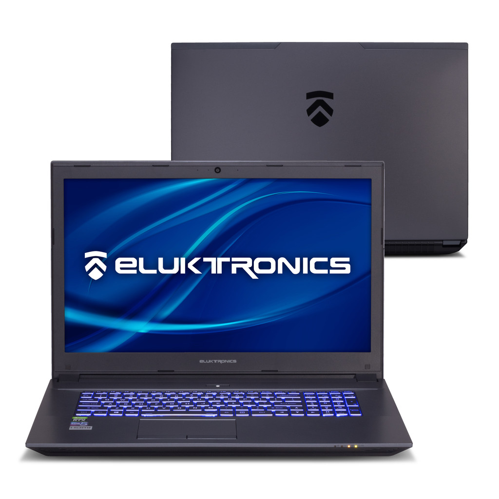 "Eluktronics N970TF 17.3"" Desktop Powered NVIDIA RTX 2070 Gaming Laptop - Introductory Special Offer!"