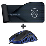 Eluktronics HIVE-65 Gaming Mouse & Large @$$ Mousepad