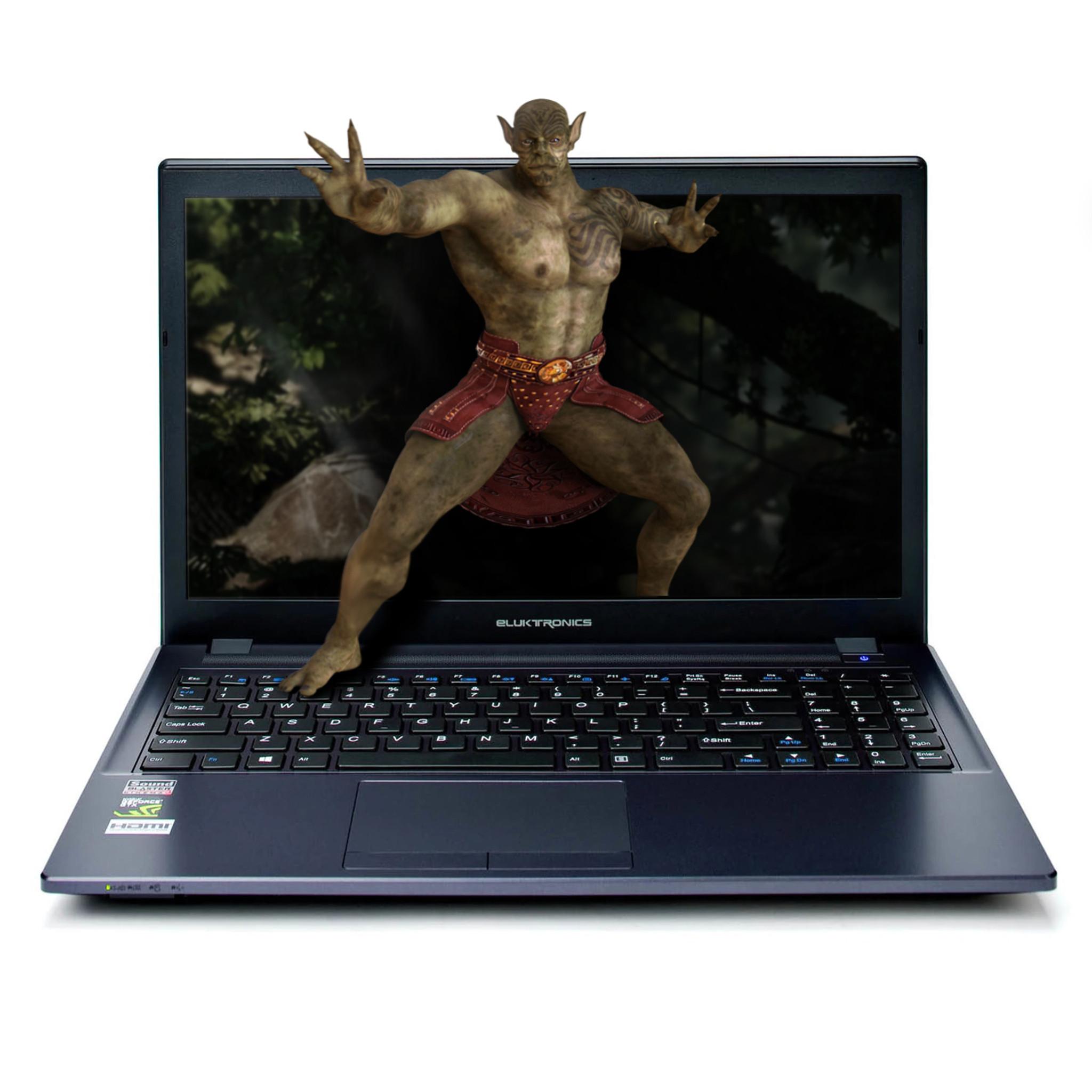 Eluktronics W650KK1 Series 15 6-Inch NVIDIA® GeForce® GTX Entertainment  Laptop