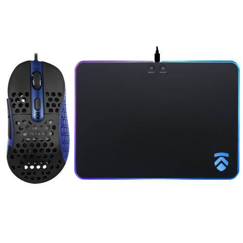 Eluktronics HIVE-65 Gaming Mouse & RGB Mousepad Bundle