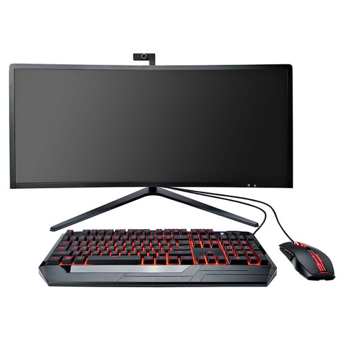 "Eluktronics 34"" Curved All-in-One Performance Gaming Desktop"