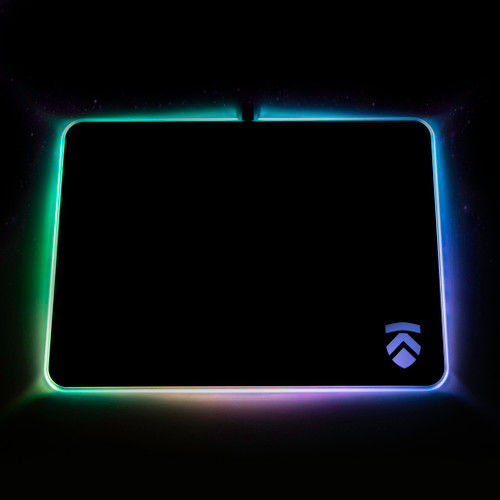 Eluktronics RGB Hard Gaming Mousepad - Large