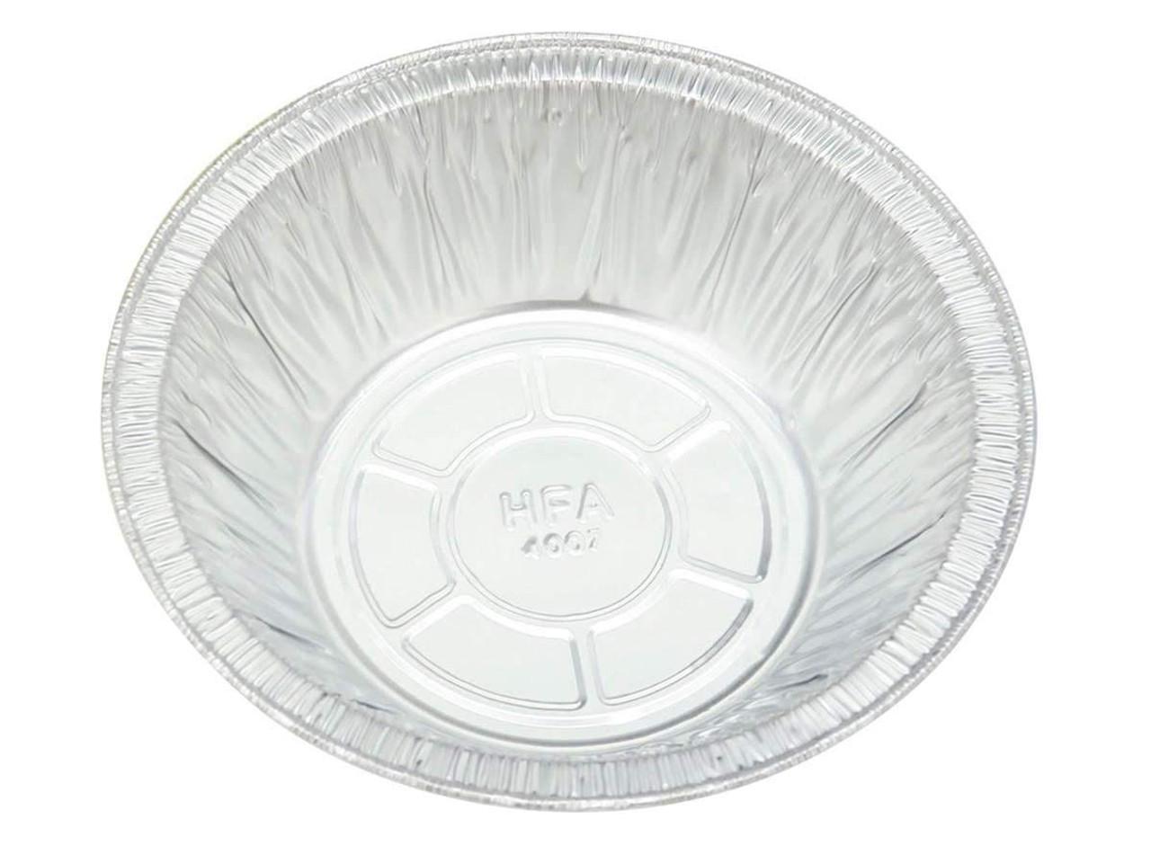 """Handi-Foil  5¾"""" Disposable Foil Pot Pie Pan - Case of 1000  #4007"""