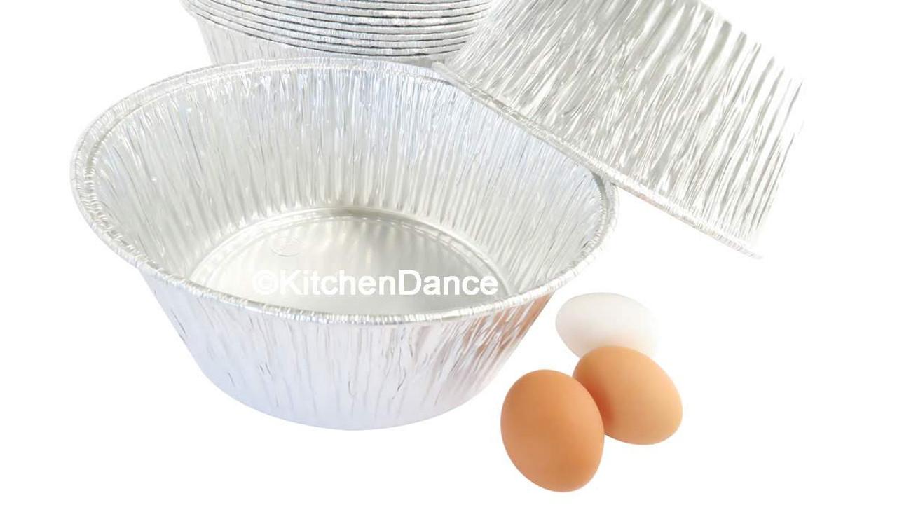"10/"" Round Disposable All Purpose Baking Pan #1600"