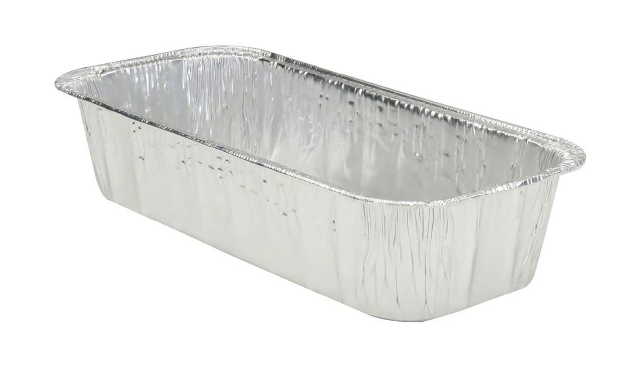 3 lb. Disposable Aluminum Loaf Pan - Case of 350 - #5300NL