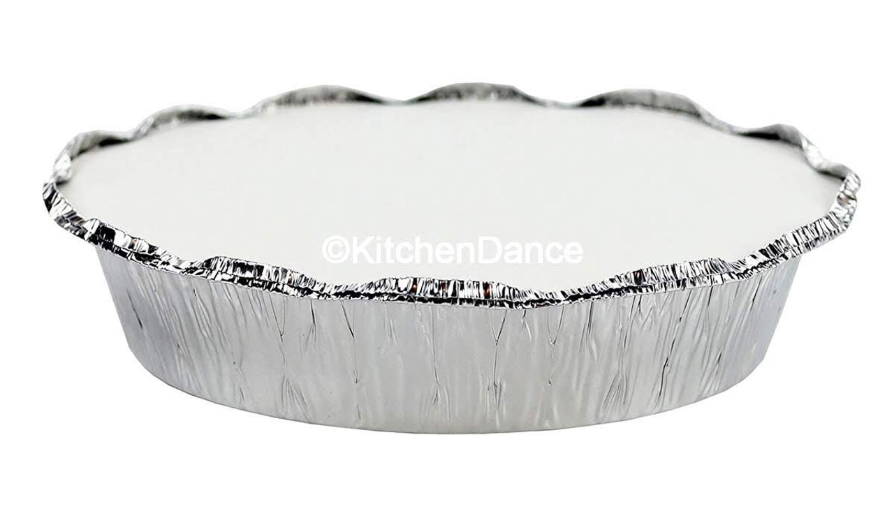 "7"" Round Disposable Food Container with Board Lid - Case of 500 - #270L"