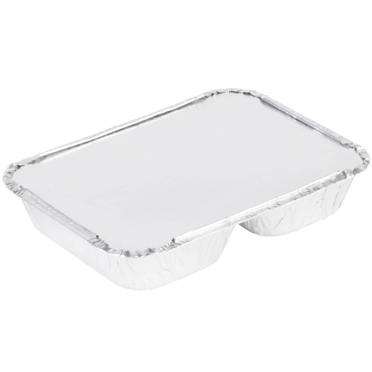 3 Compartment T.V Dinner Tray with Board Lid - Case of 250  #210L
