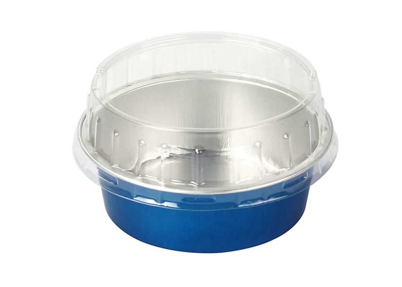 5 oz. Foil Cup with Plastic Lid  Case of 2000 - #A41P