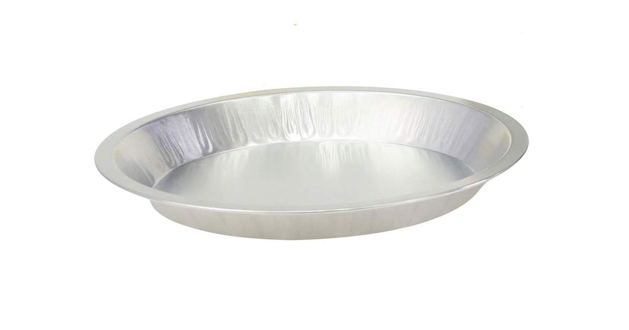 """Disposable 10"""" Heavyweight Foil Pie Pan - Case of 200  #310"""