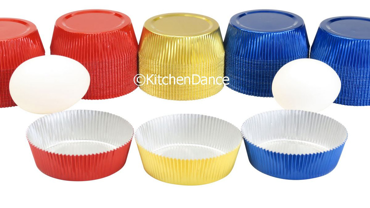 Disposable Colored Foil Tart Shell or Cupcake liner - Case of 5000 -  #K106