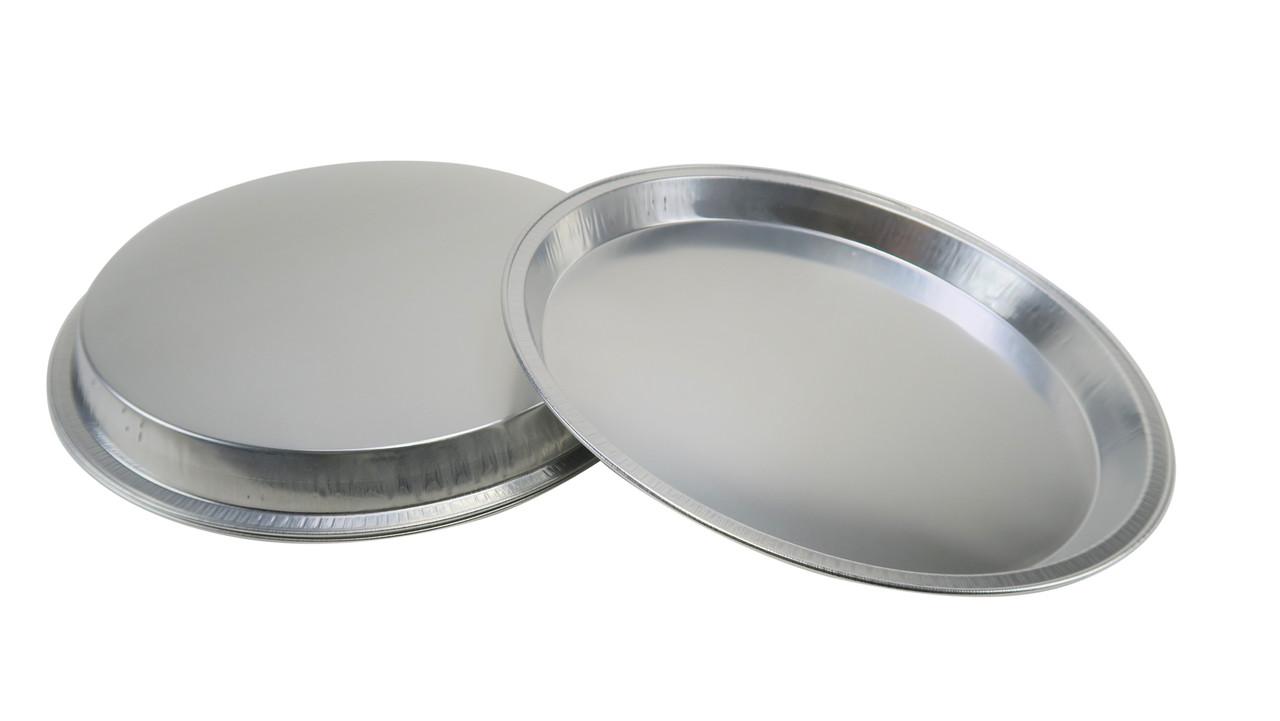 """12"""" Disposable Heavy Aluminum Foil Pizza Pan - Case of 200 - #1310"""