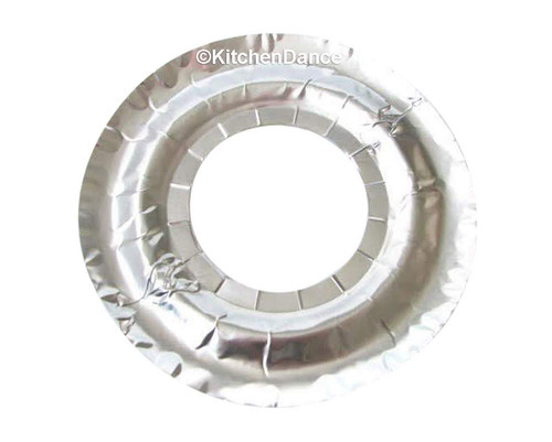 Round Gas Stovetop Disposable Burner Bibs - Case of 1000  #6000