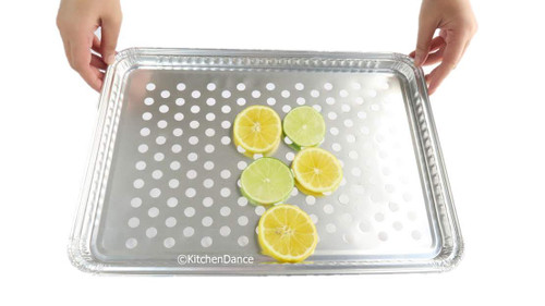 Disposable Aluminum Grill Topper Pans - Case of 200  #7200