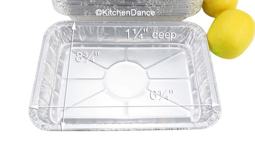 Disposable Foil Baking/Broiling Pan - Case of 500 - #1300