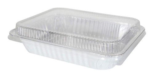 Plastic Lid for Half Size Steam Table  Pans -  Case of 100  #P4300