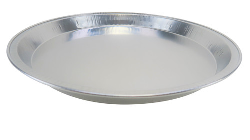 "12"" Disposable Heavy Aluminum Foil Pizza Pan - Case of 200 - #1310"