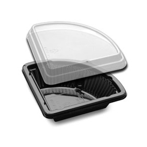 Large 2 Piece Pie Slice Container - Case of 150 sets  #CPC-26