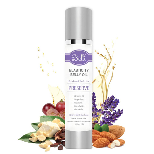 Belli Skincare Elasticity Belly Oil